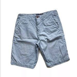 American Eagle Longboard Chino Blue Shorts